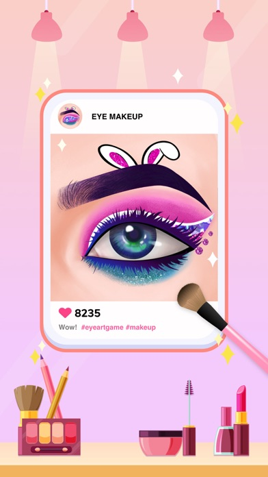 Eye Art: 完璧なメイクアップアーティストのおすすめ画像1