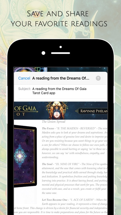 Dreams of Gaia Tarot screenshot-8