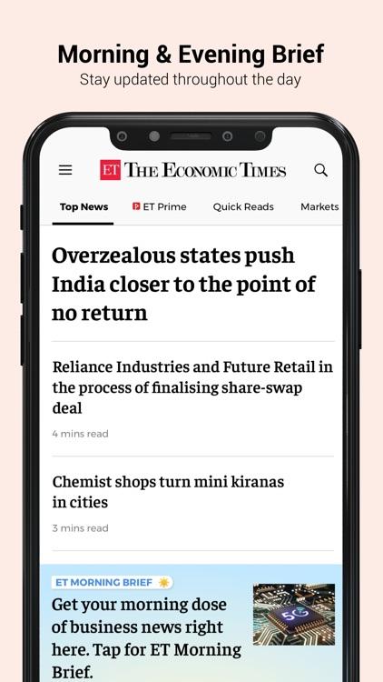 The Economic Times screenshot-8