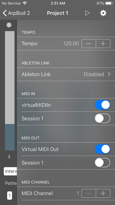ArpBud 2 AUv3 MIDI Arpeggiator screenshot 2