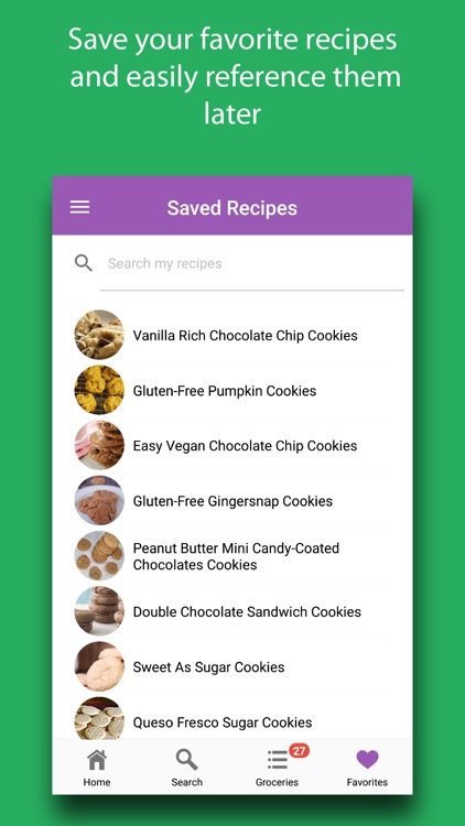 Cookies: Recipes & Ingredients screenshot-5