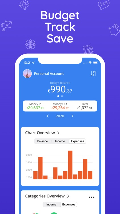 Moneyboard Budget Expenses App
