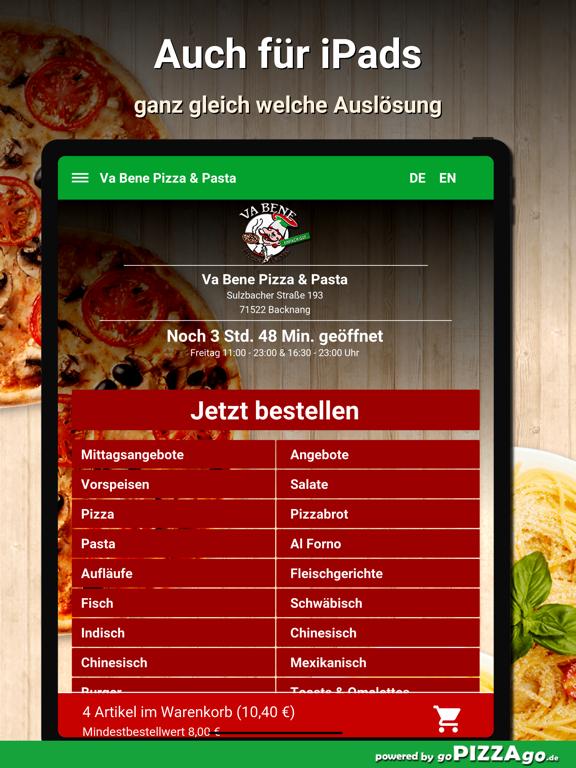 Va Bene Pizza - Pasta Backnang screenshot 7