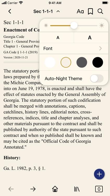 Georgia Code (by PocketLaw)