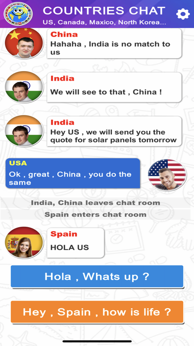 Countries Chat screenshot 6