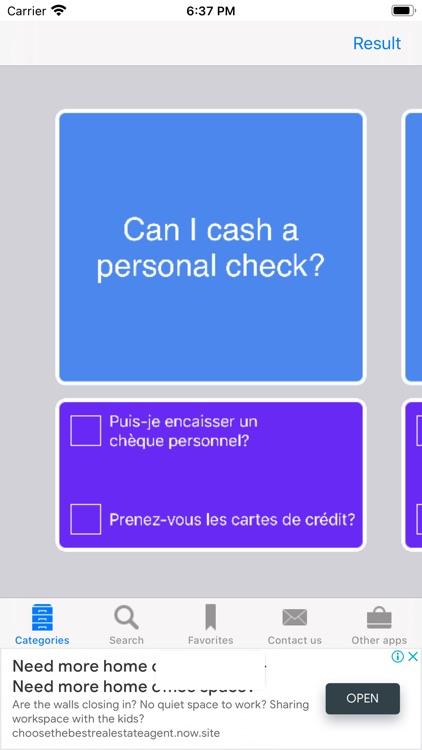 Learn English to French screenshot-6