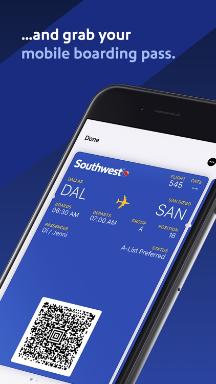 Southwest Airlines screenshot-4