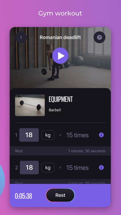 WELPS – workouts & meals screenshot-3