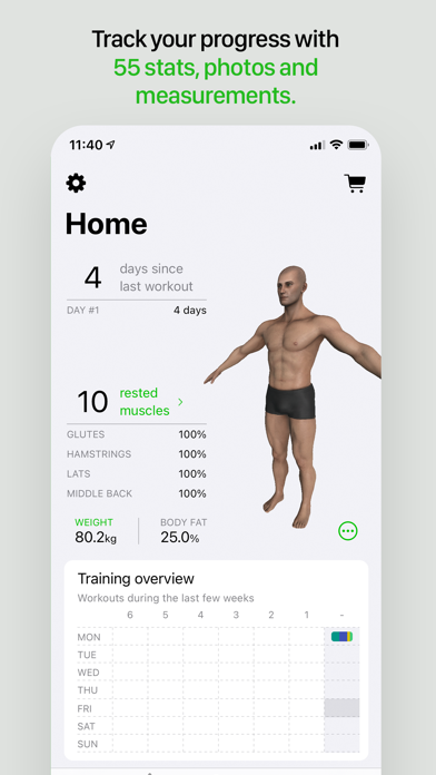 Gymaholic Workout Trackerのおすすめ画像2