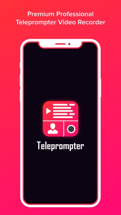 Teleprompter Video Recorder
