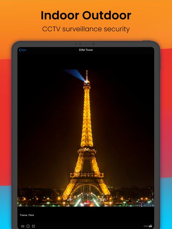 ライブカメラアースオンライン監視セキュリティIPウェブカメラのおすすめ画像4