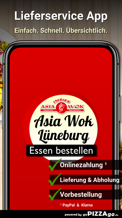 Asia Wok Imbiss Lüneburg screenshot 1