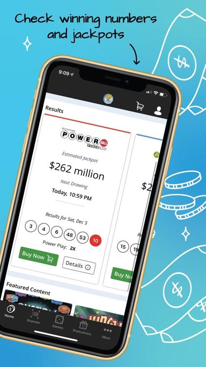Michigan Lottery Mobile