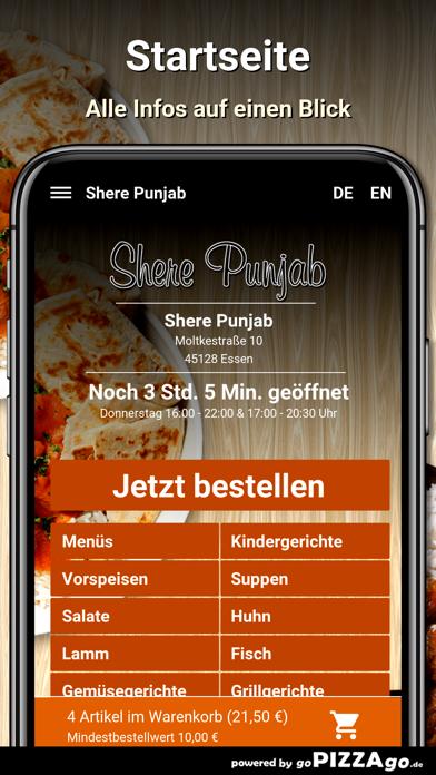 Shere Punjab Essen screenshot 2