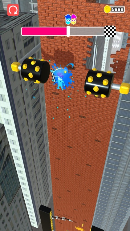 Bricky Fall screenshot-5