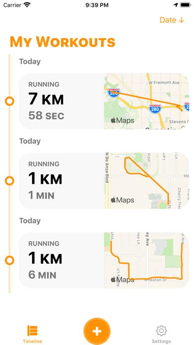 FatBurn: Run Fitness Tracker screenshot 1