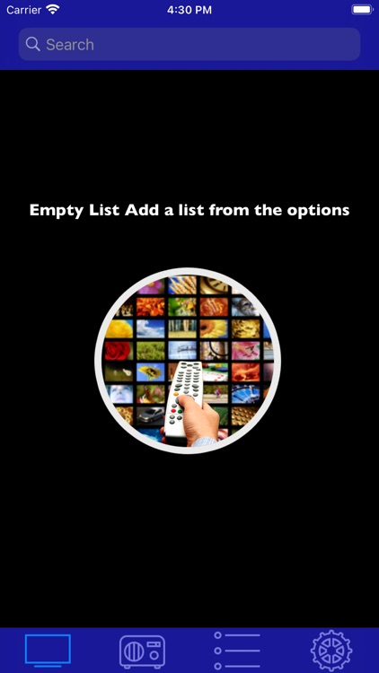 TV App - TV List