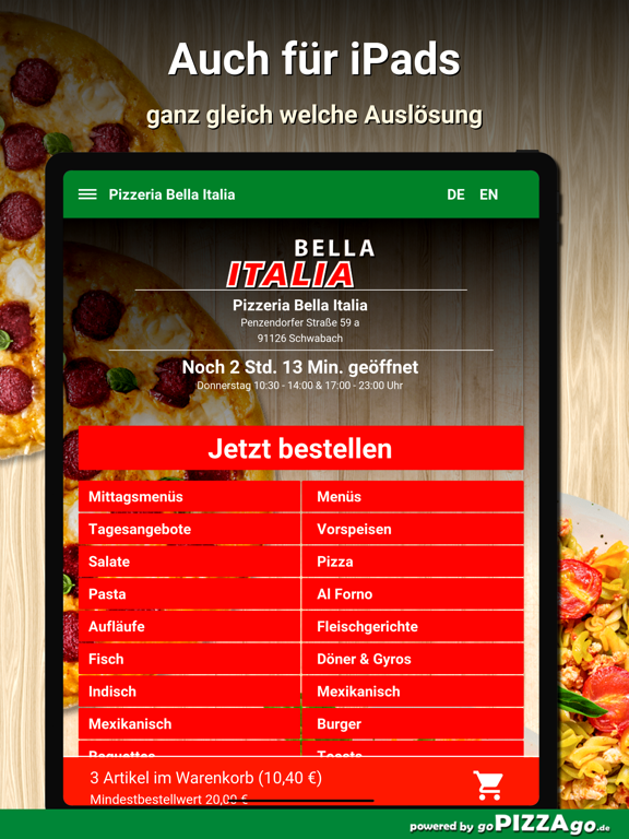 Bella Italia Schwabach screenshot 7