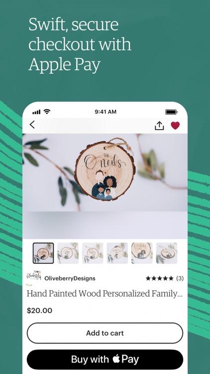 Etsy: Custom & Creative Goods screenshot-3