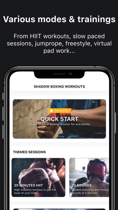Shadow Boxing Workout screenshot
