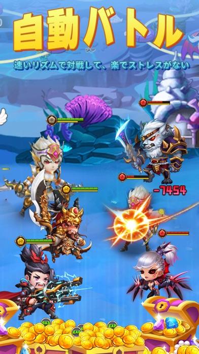 Hero clash :pocket warのおすすめ画像3
