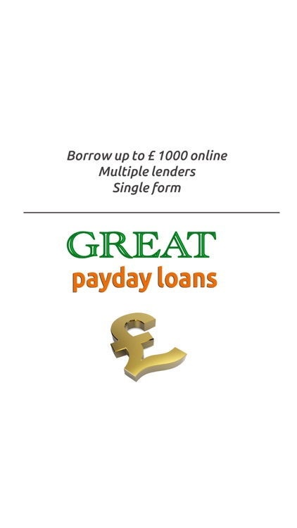 Great Payday Loans