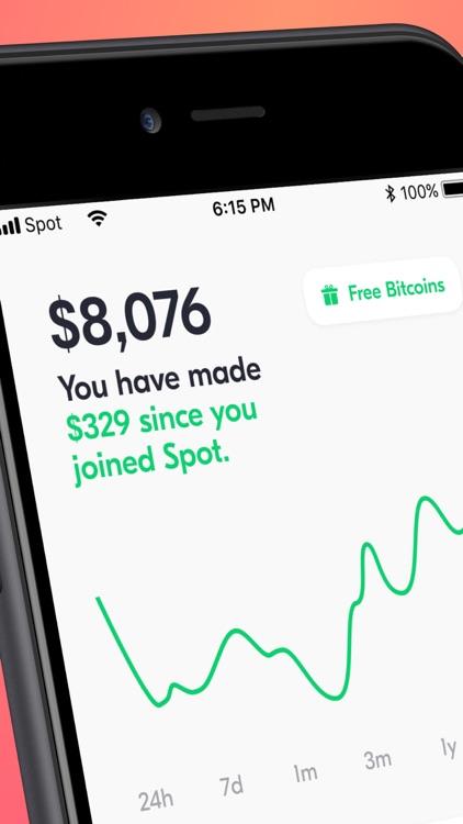 Buy Bitcoin - Spot Wallet app
