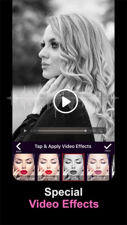 Video Editor With Music! screenshot-3