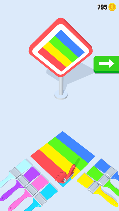 Brush Color 3D screenshot 1