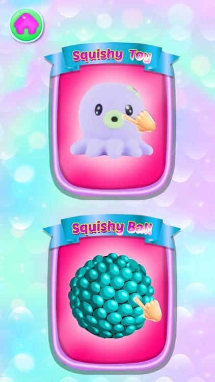 Unicorn slime maker: Squishy