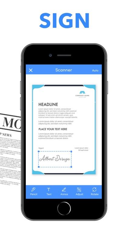 Scanner PDF Document QR Scan screenshot-4