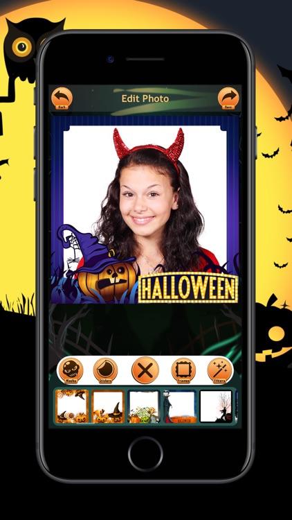 Halloween Photo Frames Trick