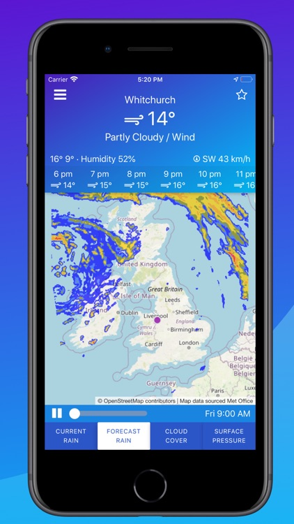 UK Weather Maps and Forecast screenshot-3