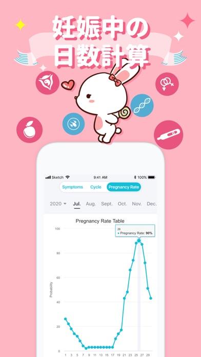 SHE 生理健康 管理アプリ・ 排卵日予測のおすすめ画像3