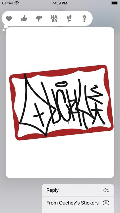 Ouchey's Sticker Pack screenshot-5