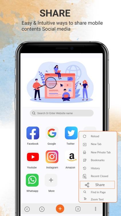 U Browser - Browser Pro screenshot-5