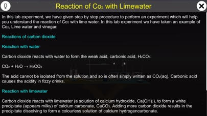 Reaction of Co2 with Limewater screenshot 1