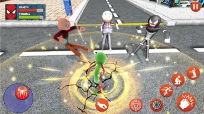Amazing Rope Stickman Warriors screenshot 1