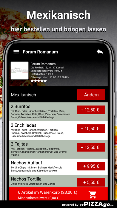 Forum Romanum Kassel Pizza screenshot 6