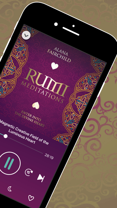 Rumi Meditations screenshot 3