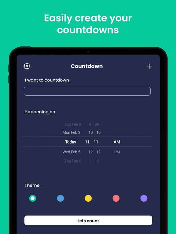 Countdown screenshot 9