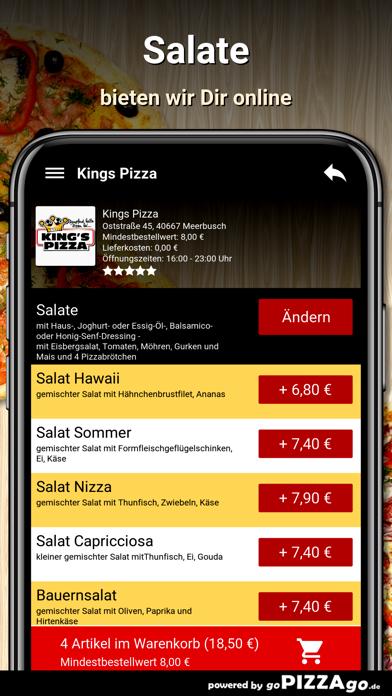 Kings Pizza Meerbusch screenshot 1