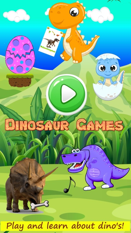 Dinosaur games for all ages screenshot-0