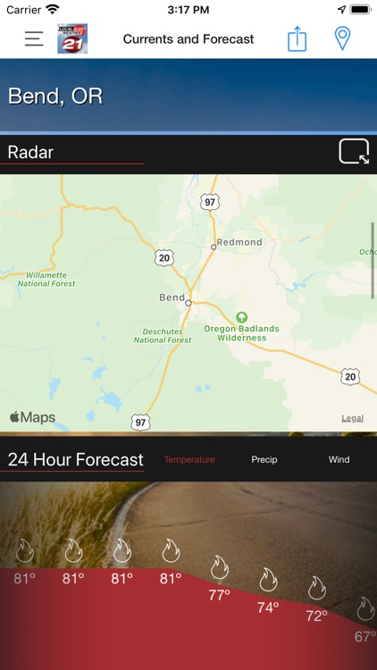 KTVZ Local Alert Weather App screenshot-3