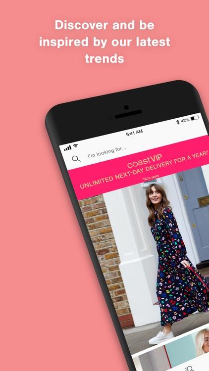 Coast Fashion: Online shopping