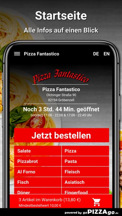 Pizza Fantastico Gröbenzell screenshot 2