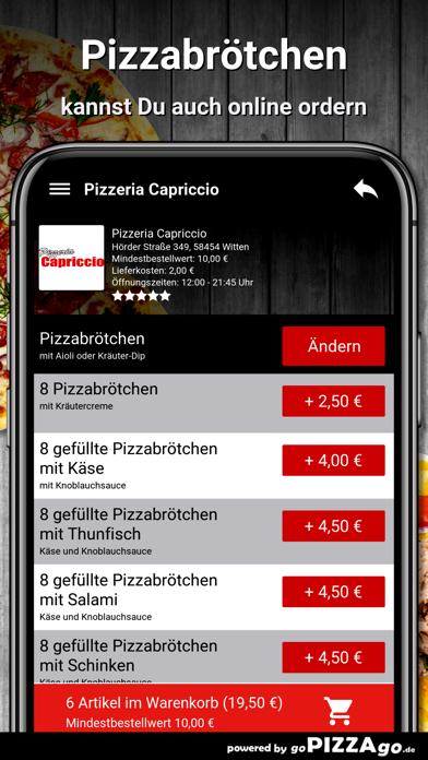 Pizzeria Capriccio Witten screenshot 5