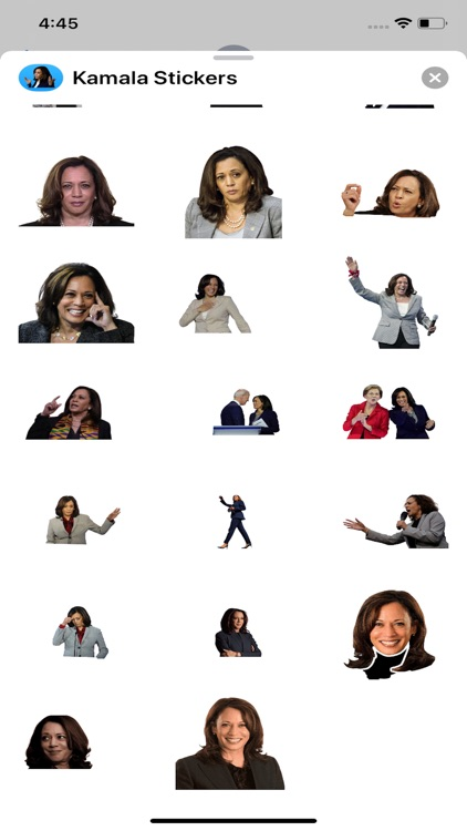 Kamala Harris 2020 Stickers screenshot-3