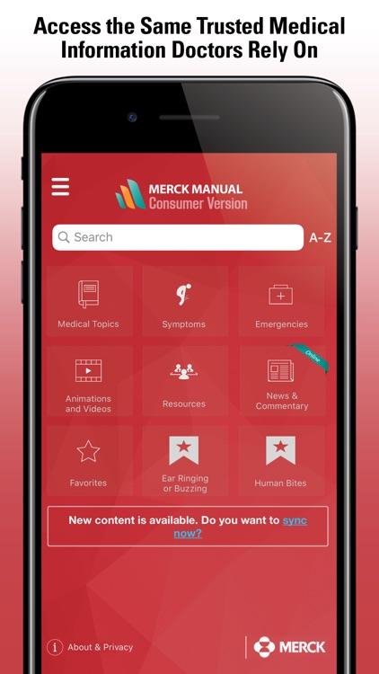 Merck Manual Consumer screenshot-4