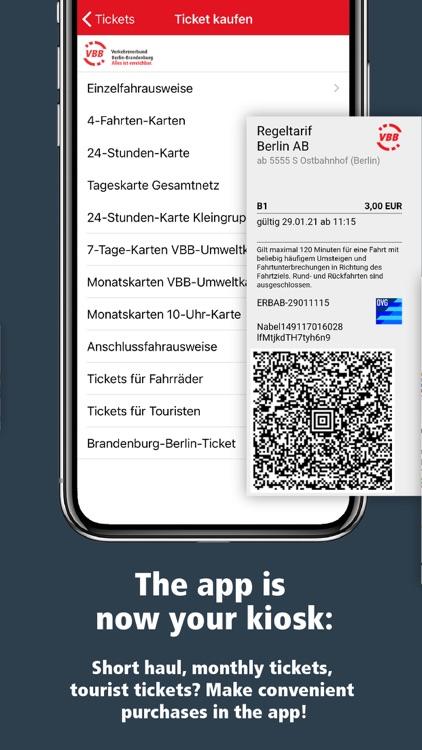 VBB Bus & Bahn: Route planner screenshot-6